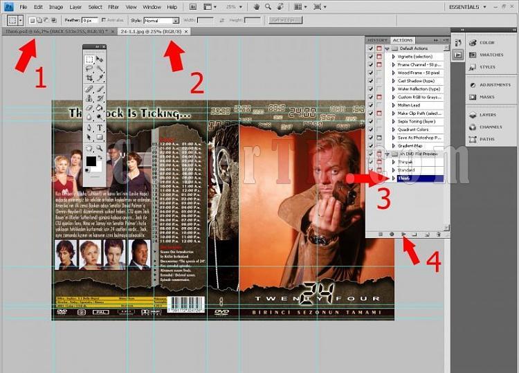 DVD Flat Preview | Photoshop'ta Action Dosyası ile Önizleme Oluşturma-untitled-1jpg