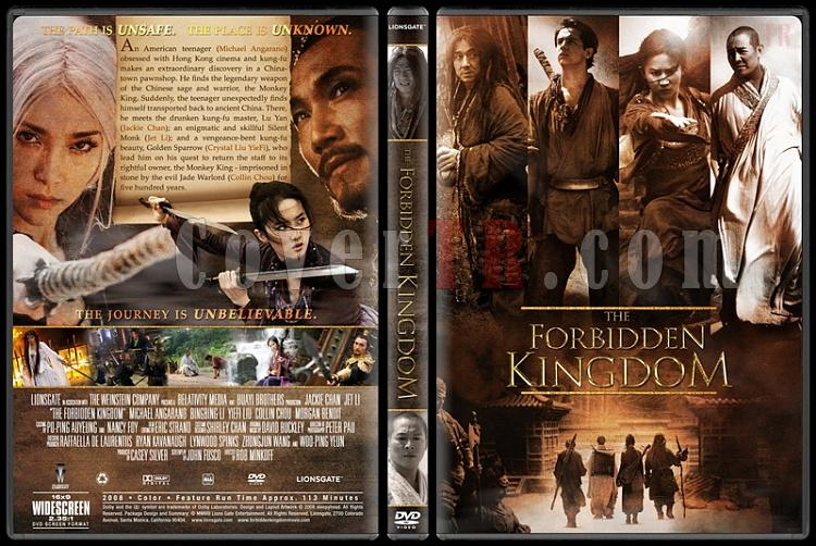 The forbidden kingdom-forbidden-kingdom-yasak-krallik-custom-dvd-cover-english-2008jpg