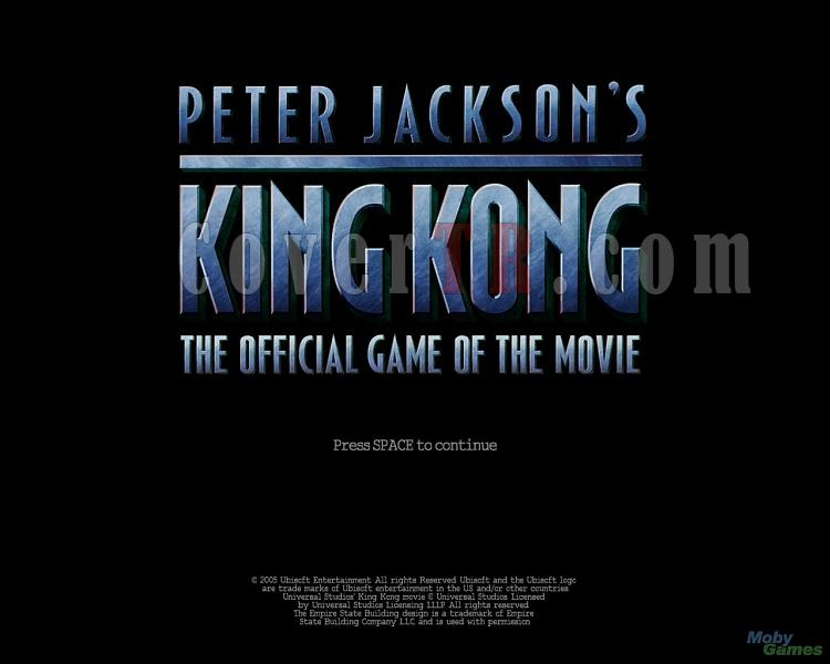 Tasarım Destek-362162-peter-jackson-s-king-kong-official-game-movie-windowsjpg