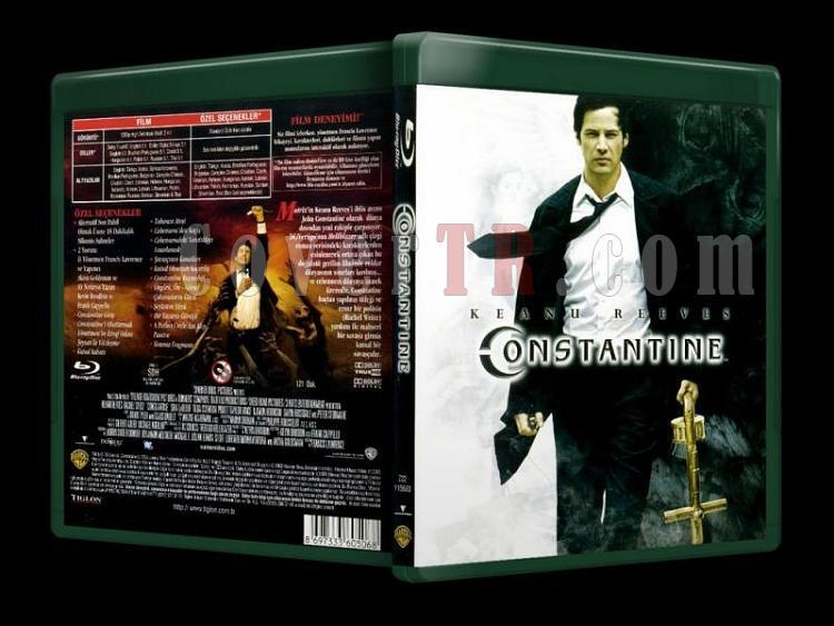 Constantine - Scan Bluray Cover - Türkçe [2005]-constantine-bluray-cover-turkcejpg