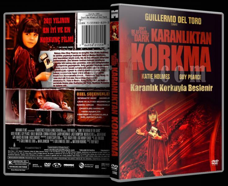 Don't Be Afraid Of The Dark - Karanlıktan Korkma - Dvd Cover - Türkçe-1jpg