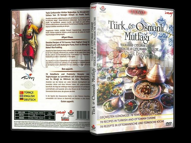 Türk ve Osmanlı Mutfağı - Dvd Cover - Türkçe-turk-ve-osmanli-mutfagi-dvd-cover-turkcejpg