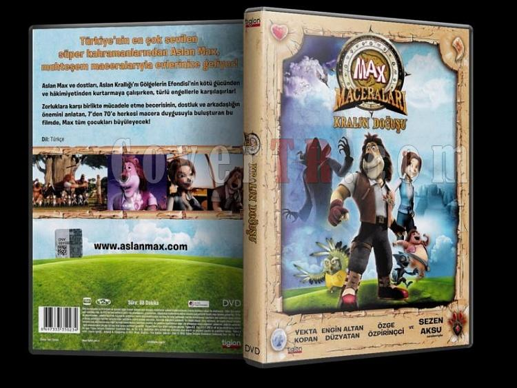 Paddle Pop adventures (Max Maceraları Kralın Doğuşu) - Scan Dvd Cover - Türkçe [2011]-paddle_pop_adventuresjpg