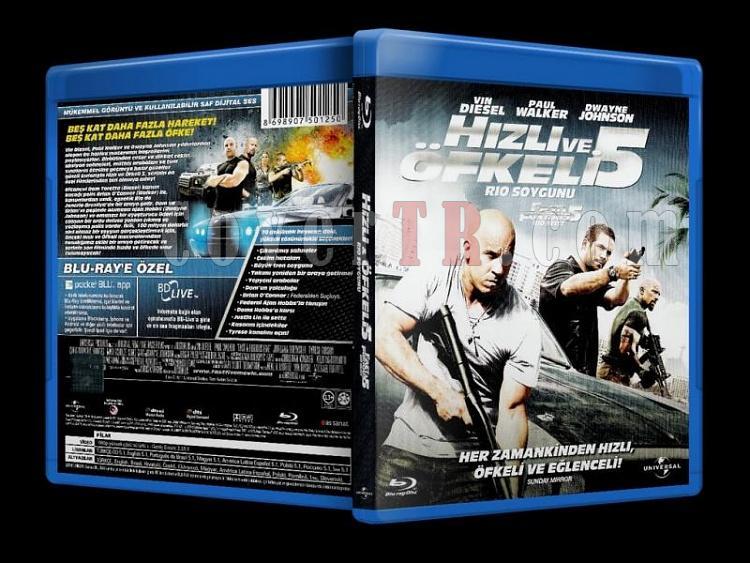 Fast Five Rio Heist (2011) - Bluray Cover - Türkçe-fast_and_furious_rio_heist_scanjpg