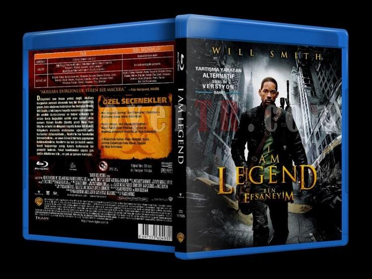 I am Legend (2007) - Bluray Cover - Türkçe-i_am_legend_scanjpg