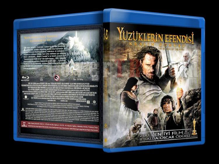 The Lord of the Rings: The Return of the King (2003) - Bluray Cover-Türkçe-the_lord_of_the_rings_the_return_of_the_king_scanjpg