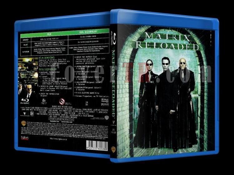 The Matrix Reloaded (2003) - Bluray Cover - Türkçe-the_matrix_reloaded_scanjpg