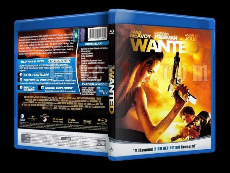 Wanted (2008) - Bluray Cover - Türkçe-wanted_scanjpg
