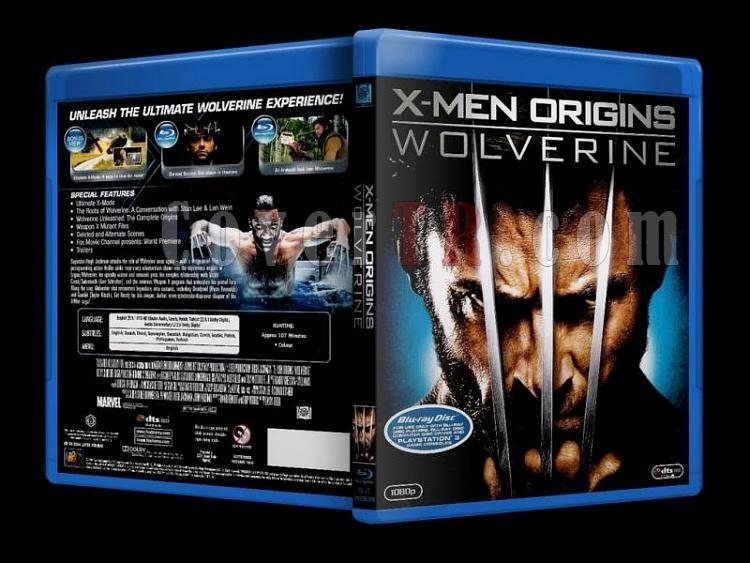 X-Men Origins: Wolverine (2009) - Bluray Cover - Türkçe-x-men_origins_wolverine_scanjpg