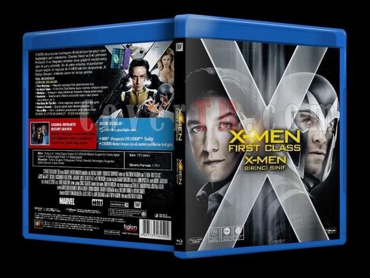 X-Men: First Class (2011) - Bluray Cover - Türkçe-x-men_first_class_scanjpg