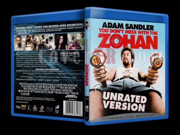 You Don't Mess with the Zohan (2008) - Bluray Cover - Türkçe-you_dont_mess_with_the_zohan_scanjpg