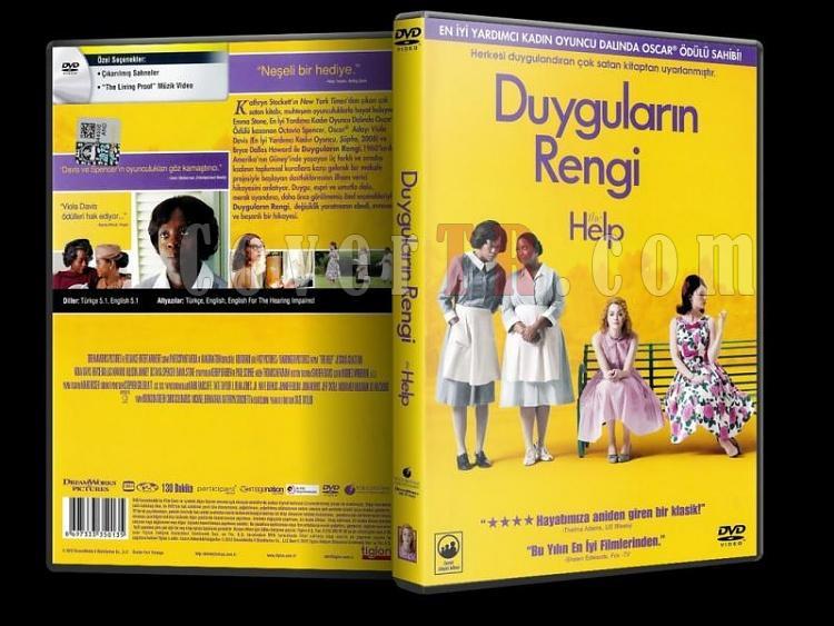 The Help (2011) - DVD Cover - Türkçe-the_helpjpg