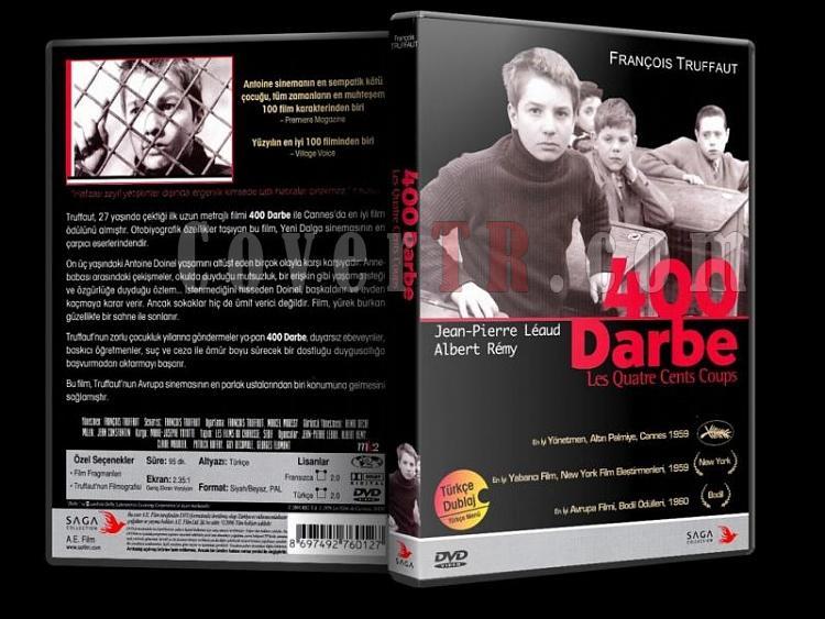 400 Darbe - Dvd Cover Türkçe-400darbe3djpg