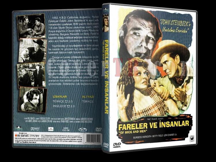 Fareler ve İnsanlar  - Of Mice And Men - Dvd Cover Türkçe-farelerveinsanlar3djpg