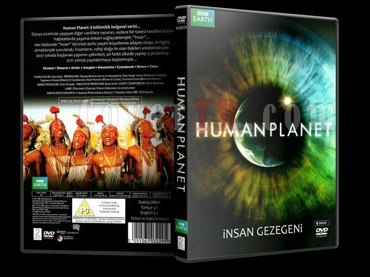 Human Planet - İnsan Gezegeni - Dvd Cover Türkçe-human3djpg