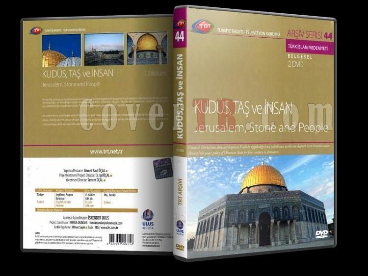 Kudüs, Taş ve İnsan - Dvd Cover Türkçe-kudsutasinsan3djpg