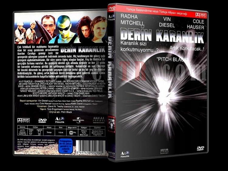 Pitch Black (Derin Karanlık) - Custom Dvd Cover - Türkçe - [2000]-pitch-black-derin-karanlik-dvd-cover-turkce-2000jpg