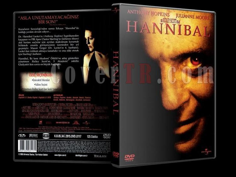 Hannibal (2001) - DVD Cover - Türkçe-hannibal__jpg