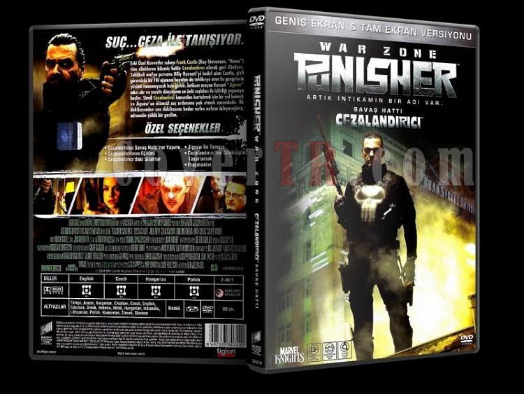 Punisher: War Zone (Cezalandırıcı: Savaş Hattı) - Scan Dvd Cover - Türkçe [2008]-punisher-war-zone-dvd-cover-turkcejpg