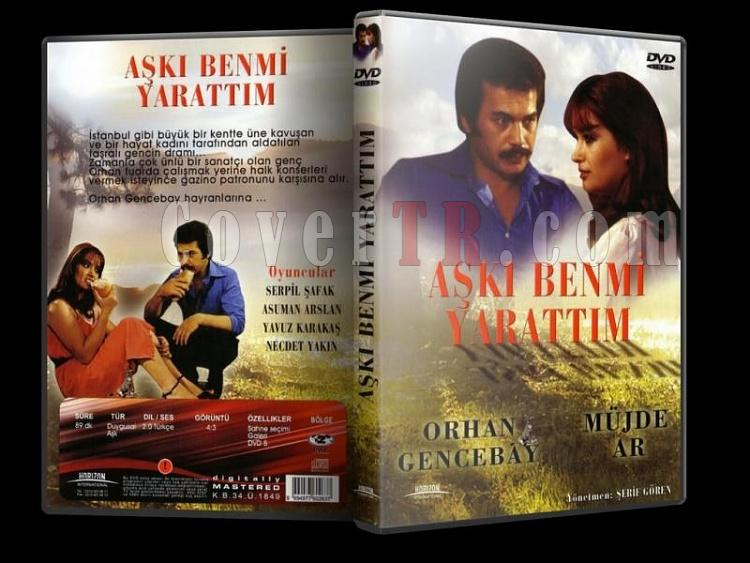 Aşkı Ben Mi Yarattım - Dvd Cover - Türkçe-6jpg