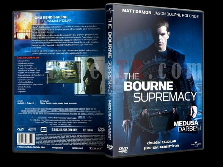 The Bourne Supremacy -  Medusa Darbesi - Scan Dvd Cover - Türkçe [2004]-the_bourne_supremacyjpg