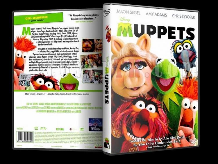 The Muppets - Muppetlar - Scan Dvd Cover - Türkçe [2011]-the_muppetsjpg