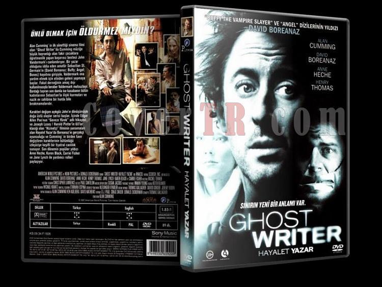 Ghost Writer (Hayalet Yazar) - Scan Dvd Cover - Türkçe [2007]-hayalet-yazar-dvd-coverjpg