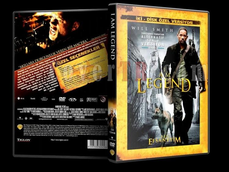 I am Legend (Ben Efsaneyim) - Scan Dvd Cover - Türkçe [2007]-i_am_legend_sejpg