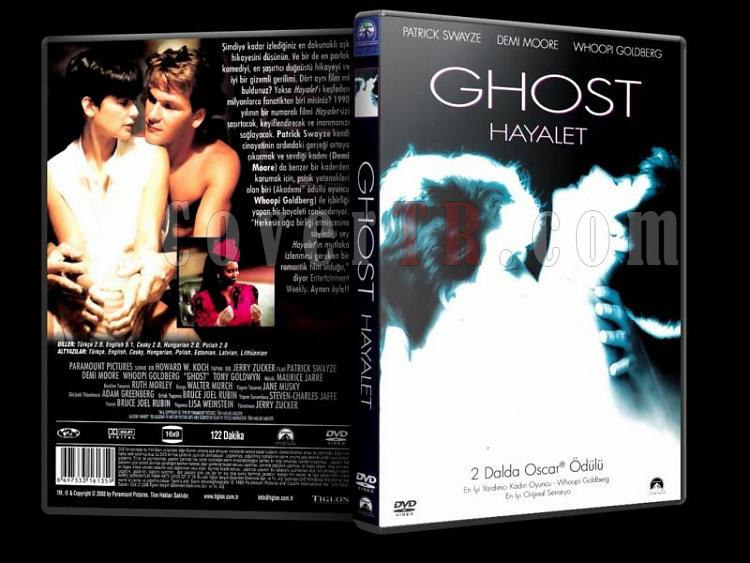 Ghost - Hayalet - Scan Dvd Cover - Türkçe [1990]-ghostjpg
