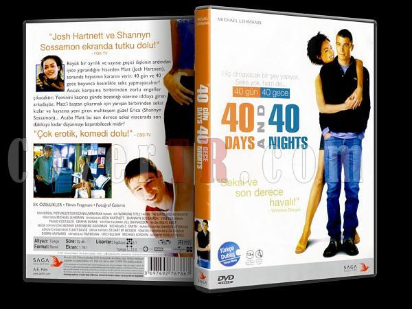 40 Days and 40 Nights - 40 Gün 40 Gece - Scan Dvd Cover - Türkçe [2002]-40_days_and_40_nightsjpg