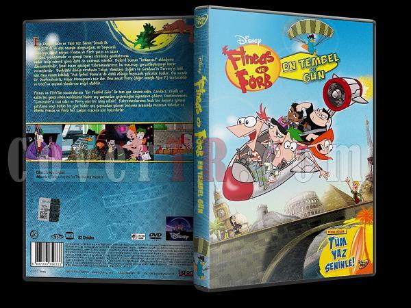Phineas and Ferb: Best Lazy Day Ever Fineas ve Förb: En Tembel Gün - Scan Dvd Cover - Türkçe [2007]-phineas_and_ferb_best_lazy_day_everjpg