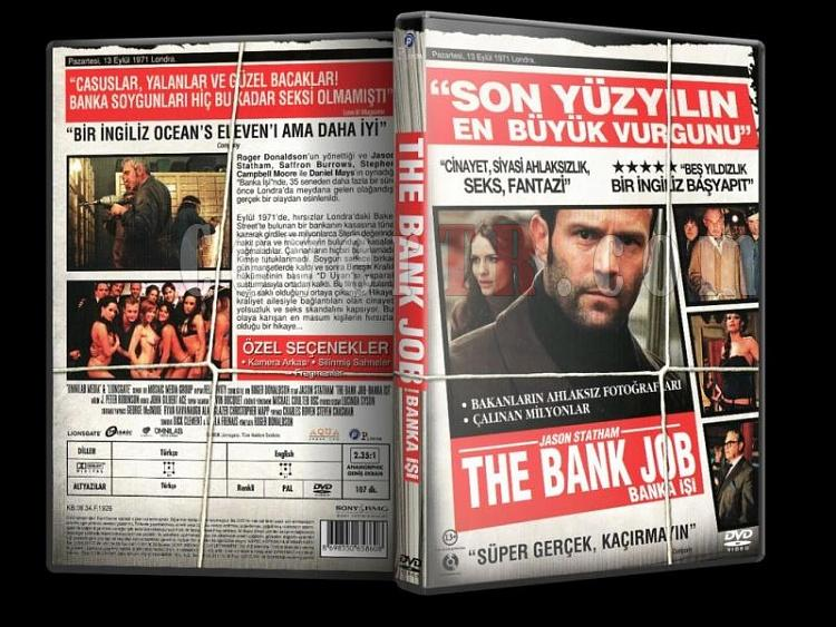 Banka İşi (The Bank Job) Türkçe Dvd Cover-banka-isi-bank-job-turkce-coverjpg