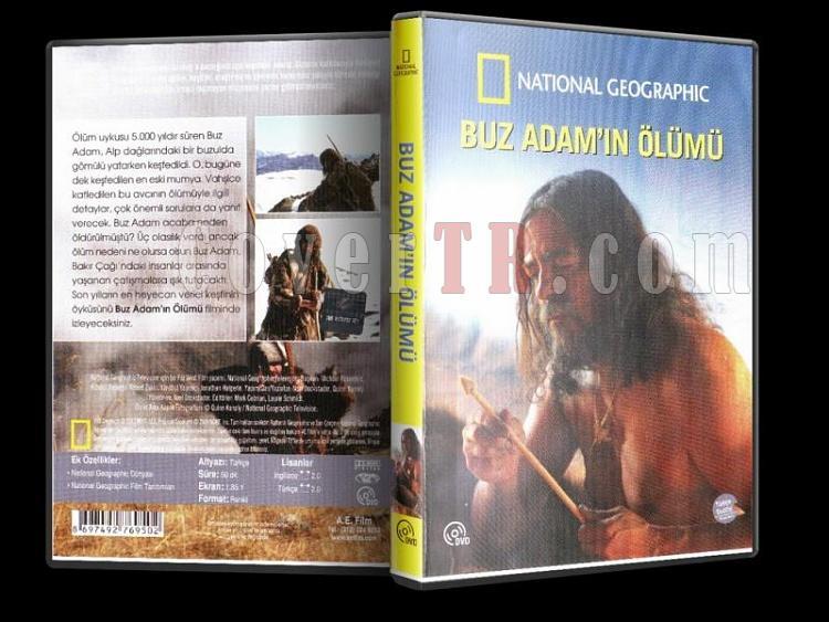 National Geographic - Buz Adam'ın Ölümü - Dvd Cover - Türkçe-buz-adamin-olumu-dvd-cover-turkcejpg