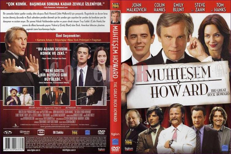 The Great Buch Howard - DVD Cover Türkçe 2008-muhtesem-howardjpg