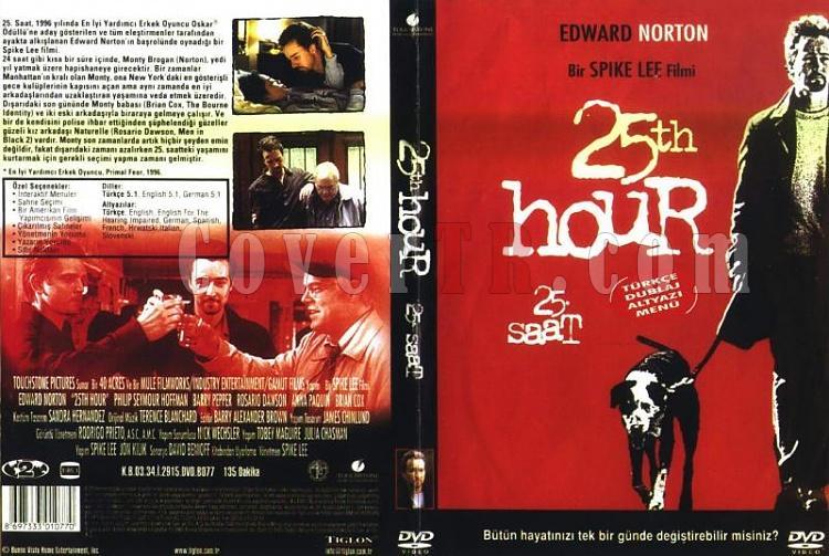 25 Saat - Dvd Cover - Türkçe-25-saatjpg