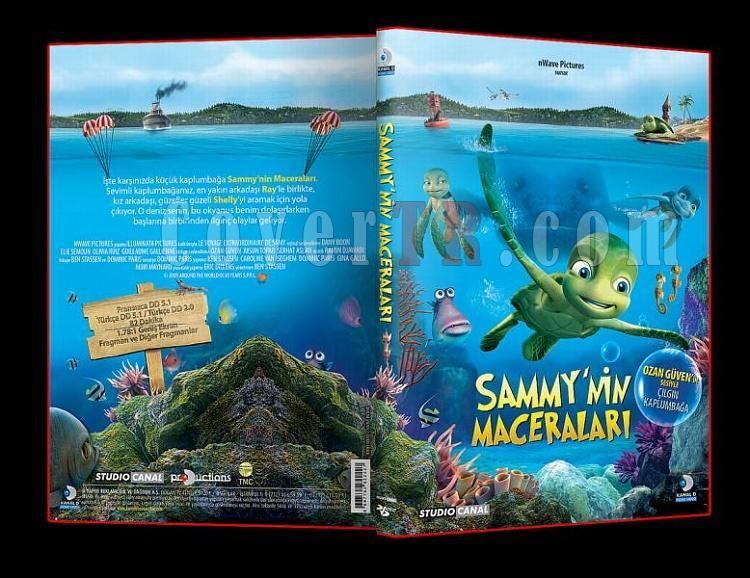 Sammy'nin Maceraları - Dvd Cover Türkçe-2jpg