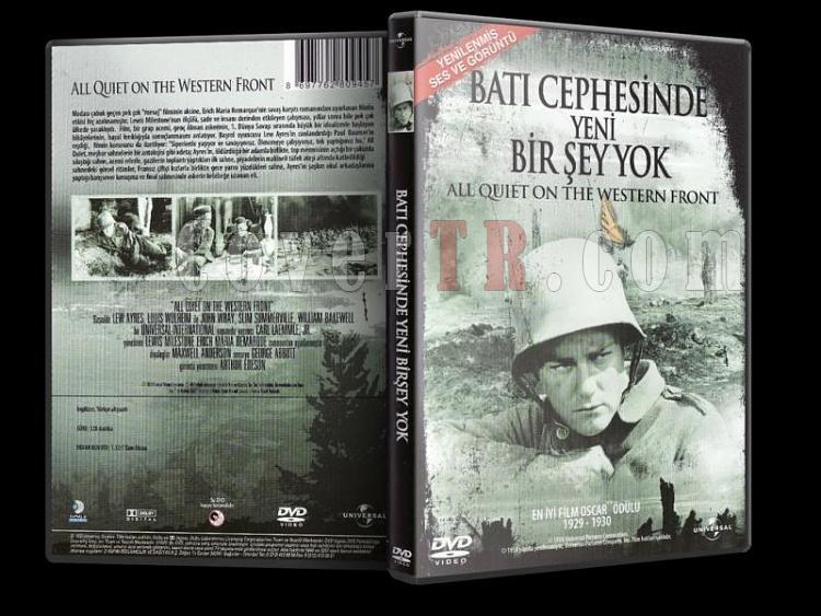 Batı Cephesinde Yeni Bişey Yok - Dvd Cover -Türkçe-bati-cephesinde-yeni-birsey-yokjpg