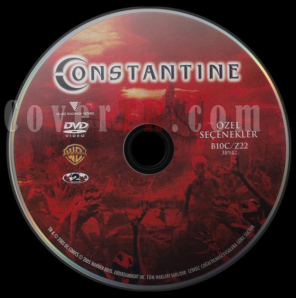 Constantine (Özel Seçenekler) - Scan Dvd Label - Türkçe [2005]-co2jpg