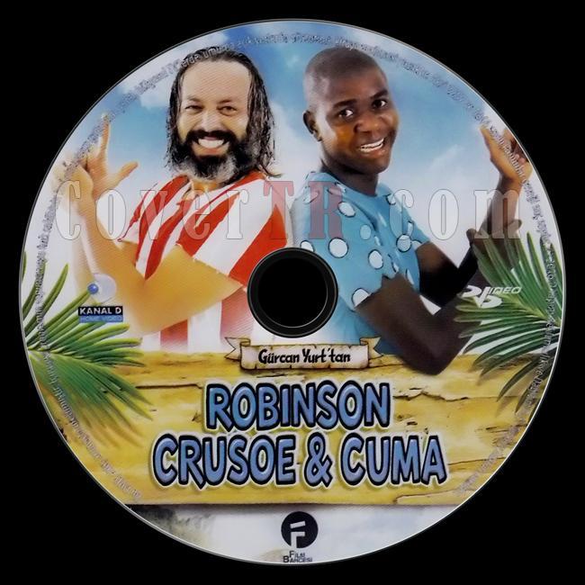 Robinson Crusoe & Cuma - Scan Dvd Label - Türkçe [2015]-robinson-crusoe-cumajpg