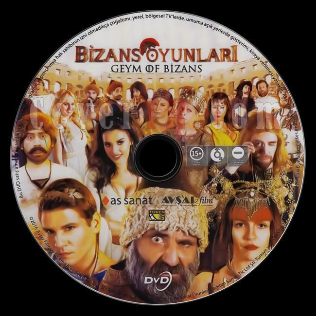 Bizans Oyunları: Geym Of Bizans - Scan Dvd Label - Türkçe [2016]-bizans-oyunlari-geym-bizansjpg