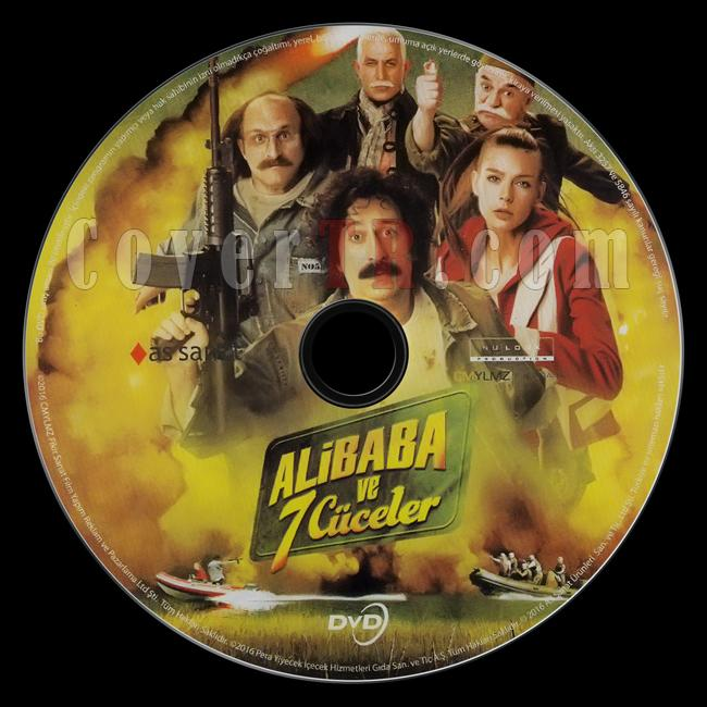 Ali Baba Ve 7 Cüceler - Scan Dvd Label - Türkçe [2015]-ali-baba-ve-7-cucelerjpg