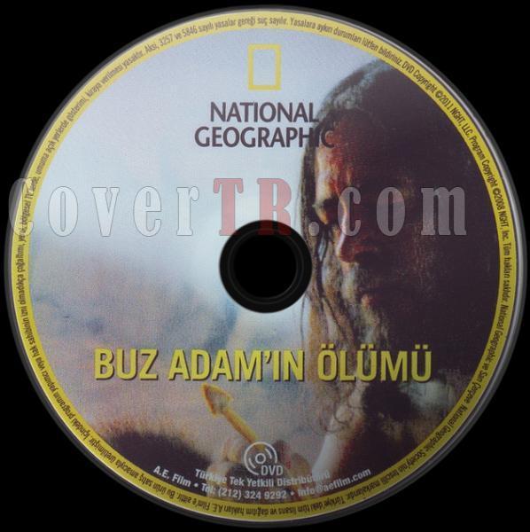National Geographic - Buz Adam'ın Ölümü - Dvd Label - Türkçe-buz-adamin-olumu-dvd-label-turkcejpg
