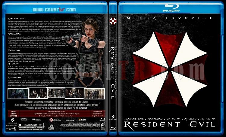 Resident Evil (Collection) - Custom Bluray Cover Box Set - English-residentjpg