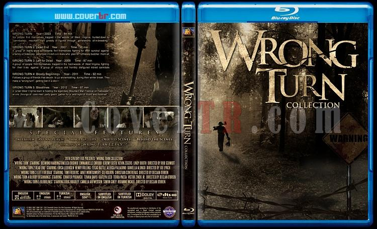 Wrong Turn (Collection) - Custom Bluray Boxset - English-wrong-turn-collectionjpg