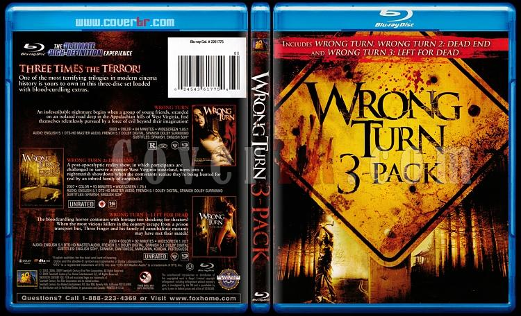 Wrong Turn (Trilogy) - Scan Bluray Cover Box Set - English [2003-2007-2009]-wrongjpg