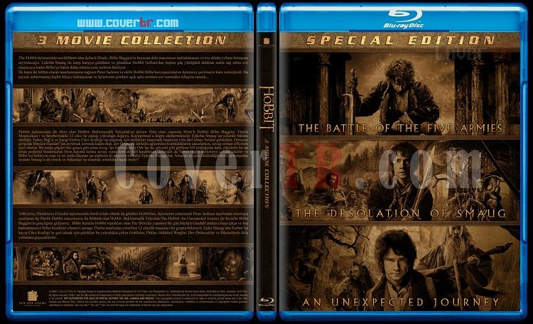 Hobbit (Collection) - Custom Bluray Cover Box Set - Türkçe Açıklamalı-blu-ray-1-disc-flat-3173x1762-11mmjpg