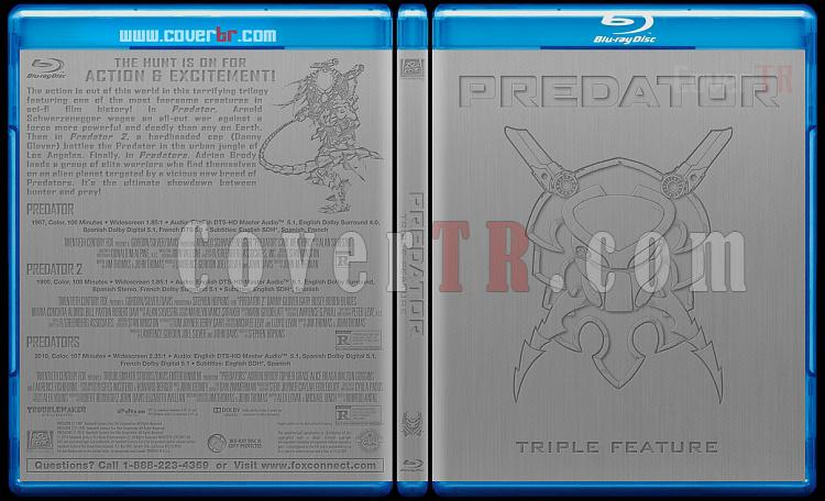 Predator (Triple Feature) - Custom Bluray Cover Box Set - English [1987-1990-2010]-predator-triple-blu-rayprew2jpg