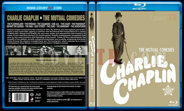 Charlie Chaplin: The Mutual Comedies - Custom Bluray Cover Box Set - English [1916-1917]-charlie-chaplin-mutual-comedies-1916-1917jpg