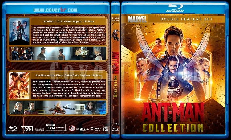 Ant-Man Collection - Custom Bluray Cover Box Set - English [2015-2018]-1jpg