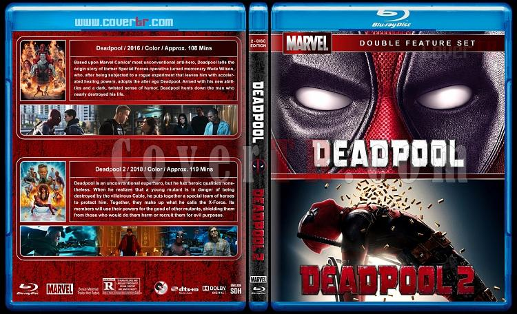 Deadpool Collection - Custom Bluray Cover Box Set - English [2016-2018]-0jpg